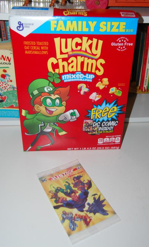 Lucky charms dc comics