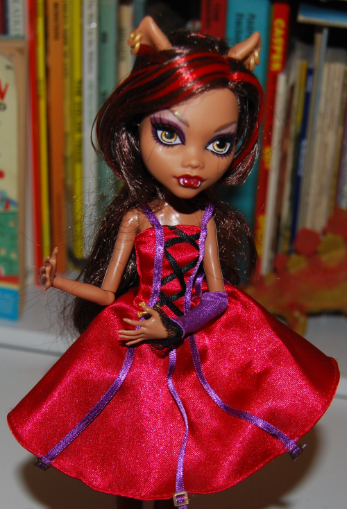 Monster high little red riding hood doll x