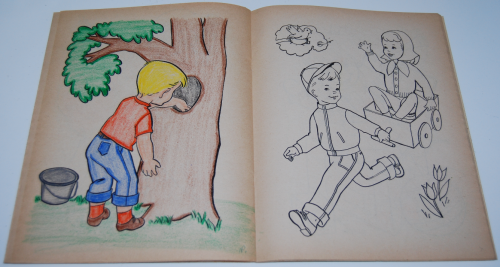 Vintage merrill coloring book 2