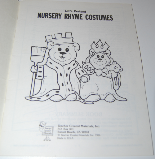 Nursery rhyme costumes 1