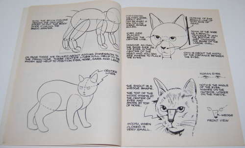 How to draw cats & kittens scholastic book 3