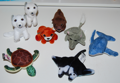 Mini animal plush toys