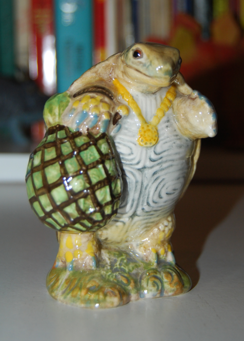 Beatrix potter turtle x