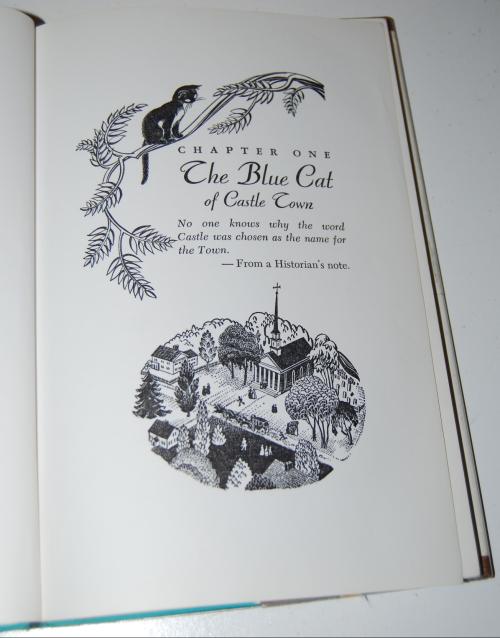The blue cat of castle town 5