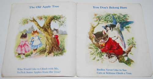 Vintage cat book pussies 2