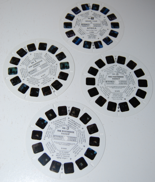 Partridge family viewmaster slides 2