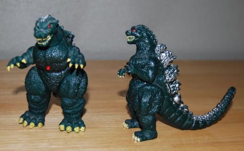 Godzilla toys 2
