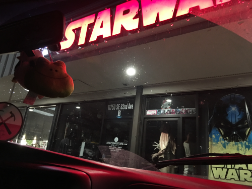 Starwars store