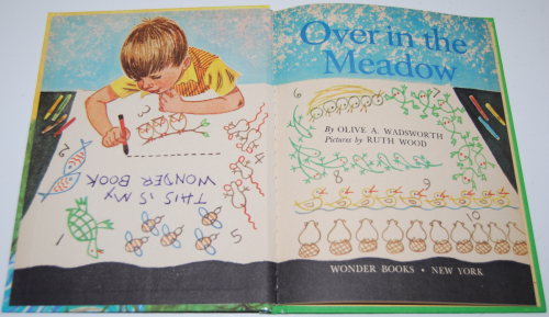 Over in the meadow book 1