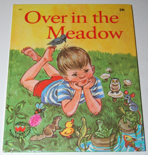 Over in the meadow book