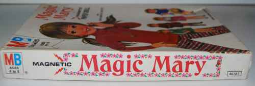 Vintage paper doll toys magic mary