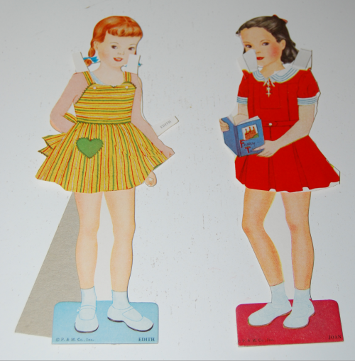 Vintage paper doll toys party dolls 7