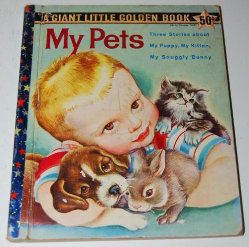 My pets giant little golden book