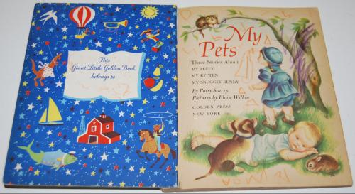 My pets giant little golden book 1