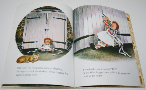 Raggedy ann & fido little golden book 8