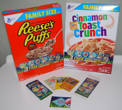General mills pokemon promo