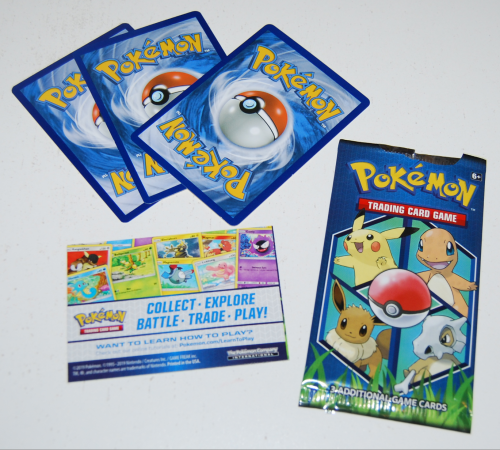Pokemon card pack 3