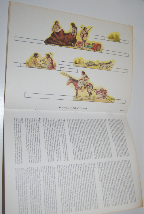 Plains indians diorama book 9