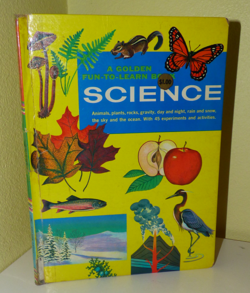 Golden science book