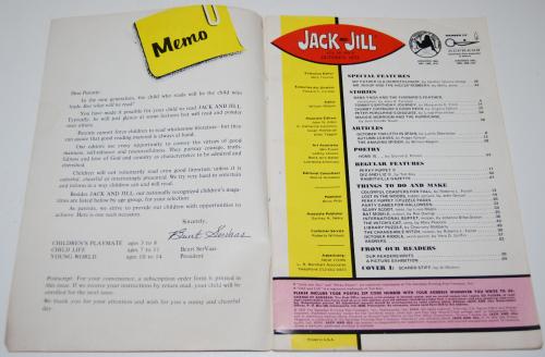 Jack & jill mag oct 1972 1