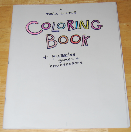 Toxic coloring book 1