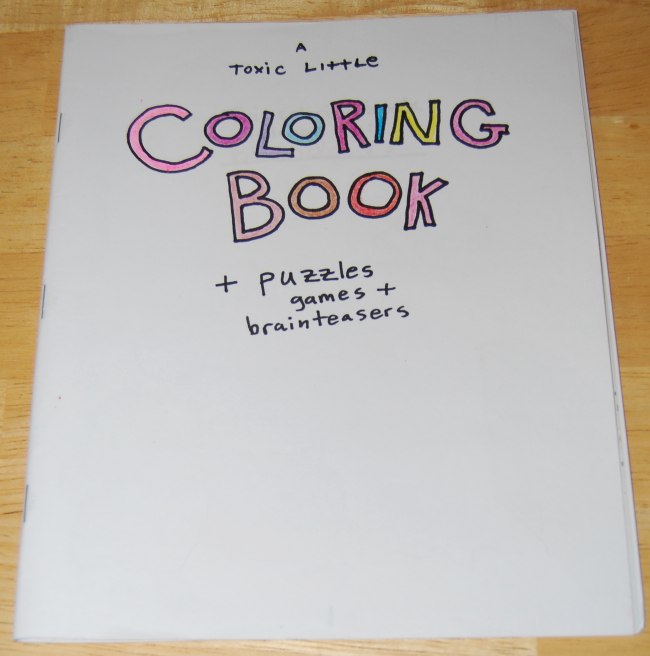 toxic coloring book