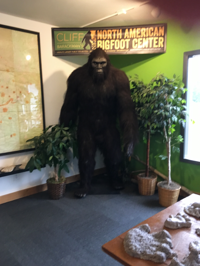 north american bigfoot center
