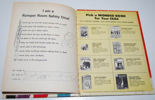 The romper room safety book 8