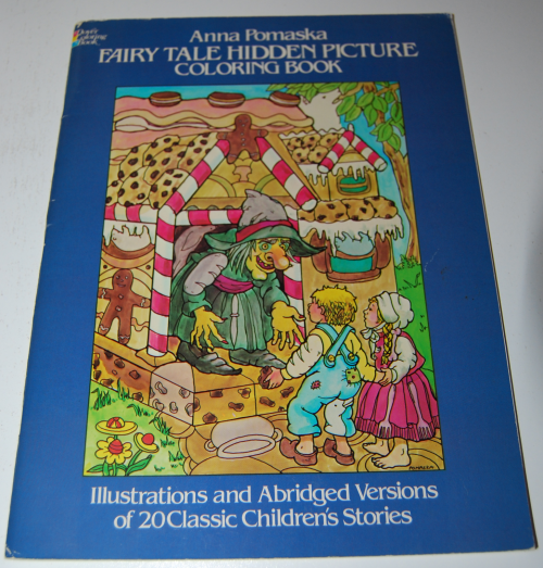 Dover fairy tale coloring book