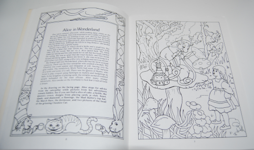 Dover fairy tale coloring book 3