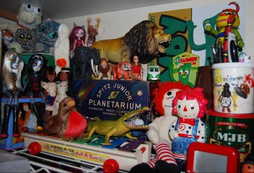 Toyroom shelves