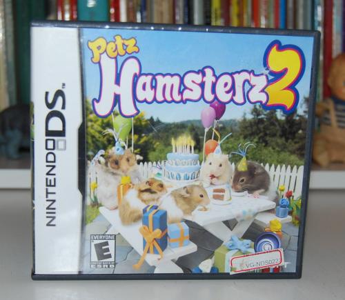 Nintendo ds petz hamsters 2
