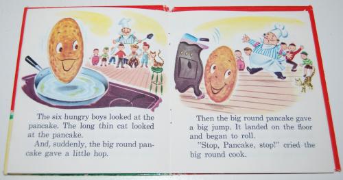 The runaway pancake 5