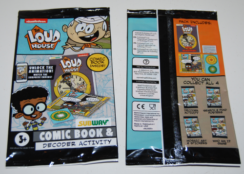 Loud house mini comic books