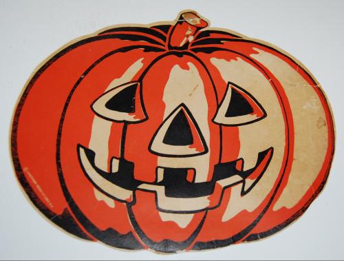 Vintage halloween decos 8
