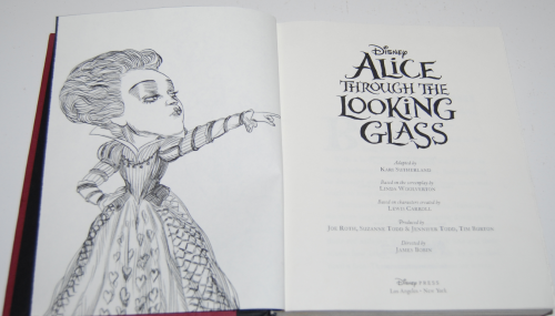 Disney alice through the looking glass book 1