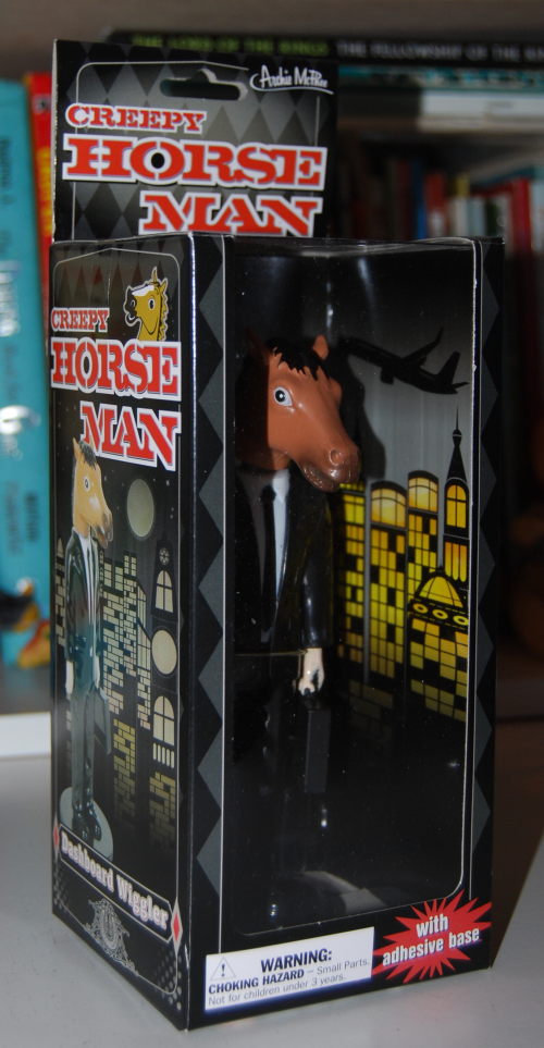 Creepy horse man