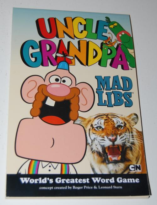 Uncle grandpa madlibs