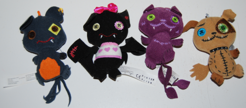 Monster high plush pet