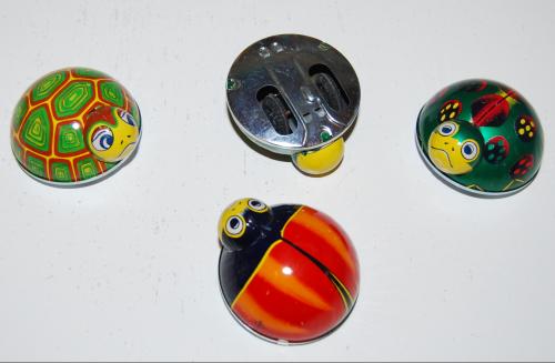 Tin beetle toys 1