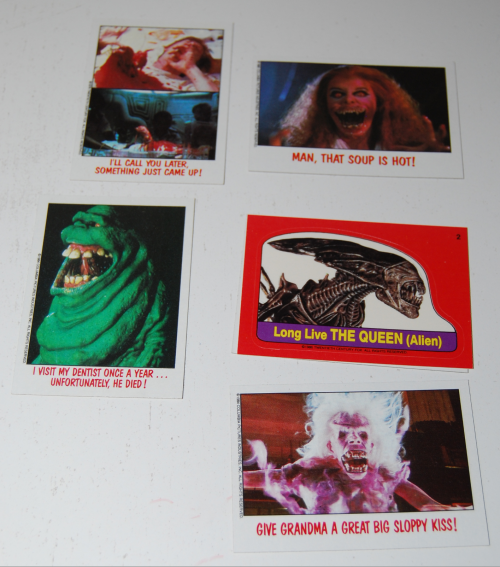 Fright flicks cards 4
