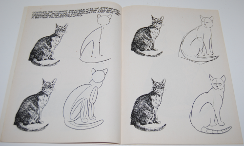 How to draw cats & kittens scholastic book 4