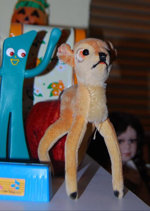 Steiff deer plush toy x