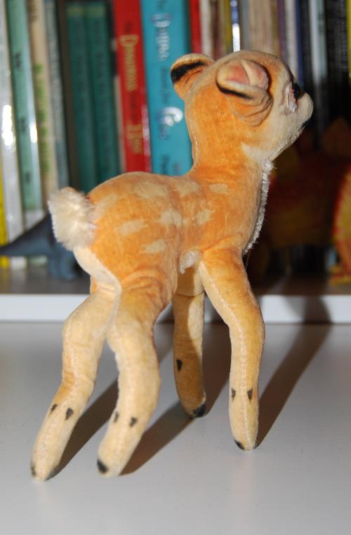 Steiff deer plush toy 1