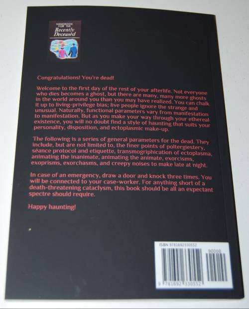 Handbook for the recently deceased x
