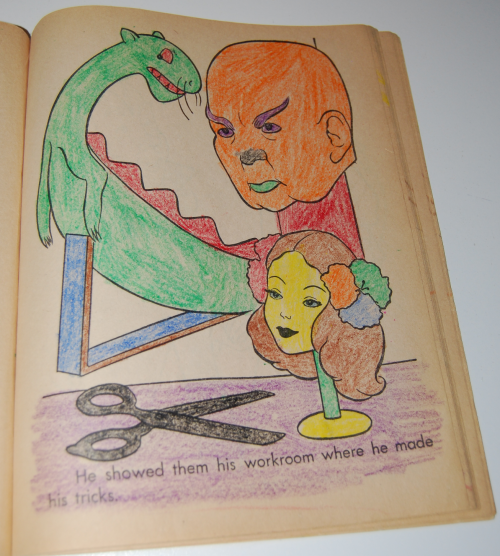 Wizard of oz coloring book saalfield 6