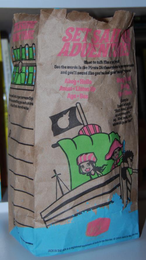 Jack in the box kids bag