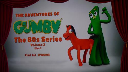 Gumby 1980s dvd volume 2 x