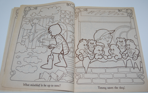 Care bears family coloring book 2