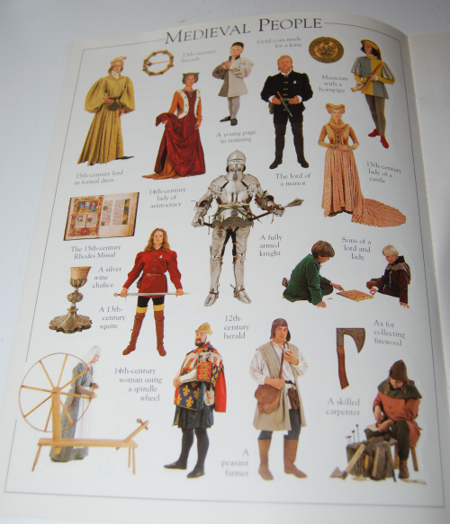 Castle & knight sticker book 3
